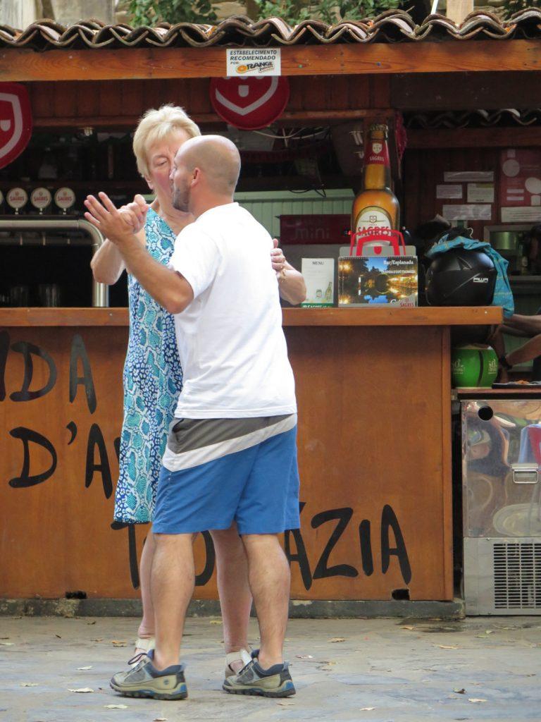 Dancing at Praia Peneda River Beach