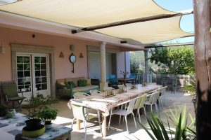 Outdoor facilities at Zororo Retreat - Outdoor Dining