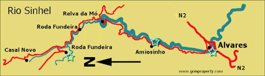 Rio Sinhel map